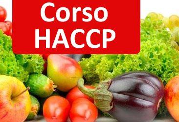 Settembre 2017 Corso di Formazione per addetto alla manipolazione degli alimenti – HACCP